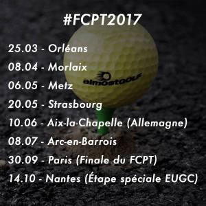 Etapes FCPT 17